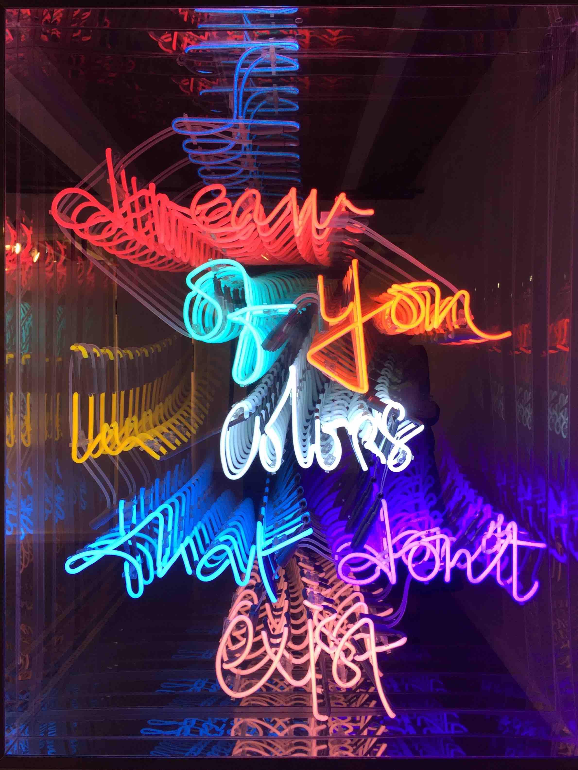 messages lights illuminated michel artsper for sculpture artwork signs art lighting neon online original sale buy pin aura eric