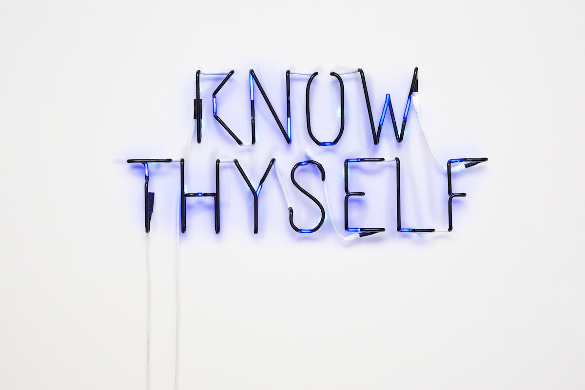 Know Thyself, 2016_46x96x7cm_Circle Culture, Berlin